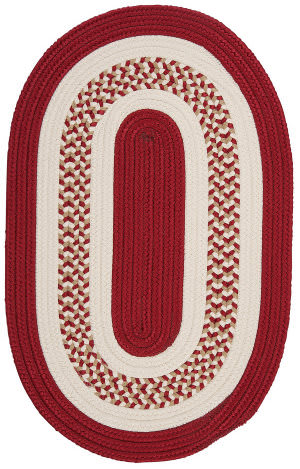 Colonial Mills Flowers Bay Fb71 Red Area Rug