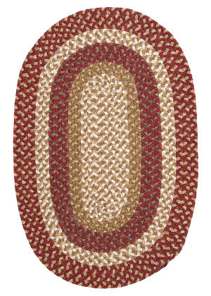 Colonial Mills Pattern-Made Fm79 Red Multi Area Rug