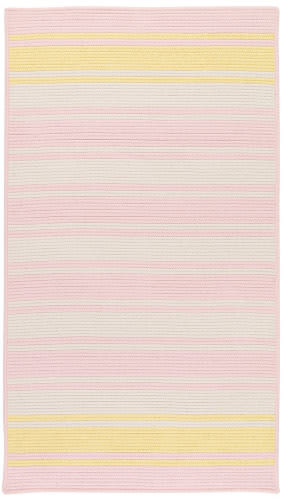 Colonial Mills Frazada Stripe Fz79 Pale Pink/Yellow Area Rug