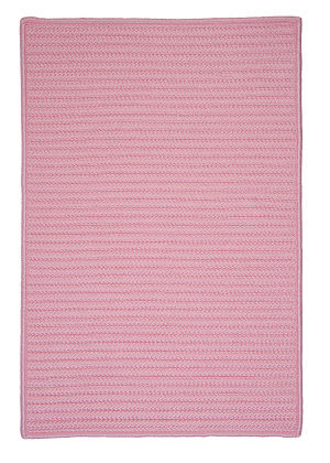 Colonial Mills Simply Home Solid H051 Light Pink Area Rug