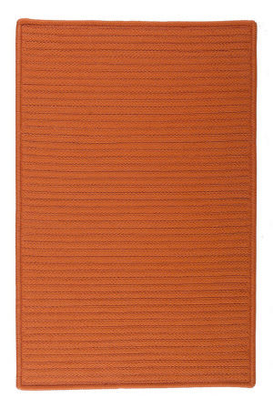 Colonial Mills Simply Home Solid H073 Rust Area Rug