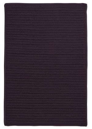 Colonial Mills Simply Home Solid H121 Eggplant Area Rug