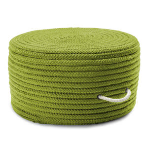 Colonial Mills Simply Home Solid Pouf H271 Bright Green