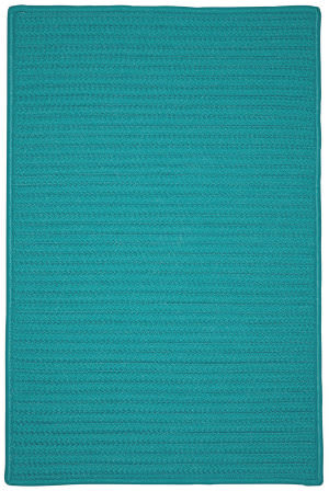 Colonial Mills Simply Home Solid H920 Teal Area Rug