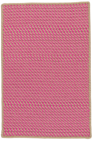 Colonial Mills Point Prim Im73 Magenta Area Rug