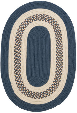 Colonial Mills Crescent Nt51 Lake Blue Area Rug