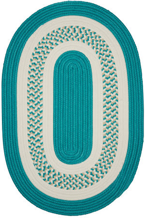 Colonial Mills Crescent Nt52 Teal Area Rug