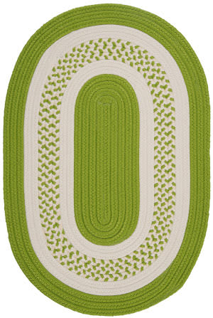Colonial Mills Crescent Nt62 Bright Green Area Rug