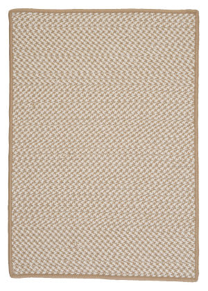Colonial Mills Outdoor Houndstooth Tweed Ot89 Cuban Sand Area Rug