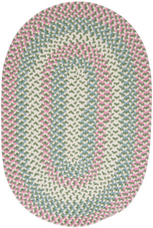 Colonial Mills Carousel Ou69 Bubble Green Area Rug