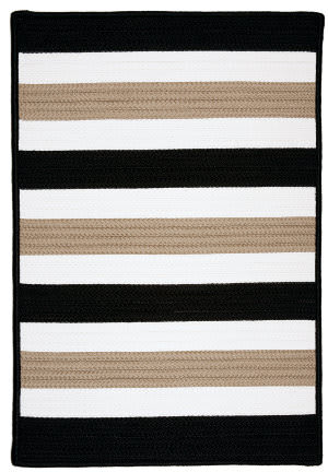 Colonial Mills Portico Po49 Sharp Black Area Rug