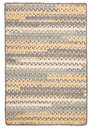 Colonial Mills Print Party Py39 Shaded Yellow Area Rug