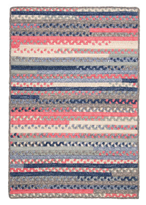 Colonial Mills Print Party Py79 Crushed Coral Area Rug