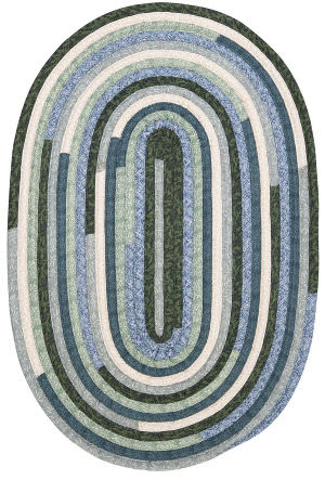 Colonial Mills Quilter's Choice Qc20 Seafoam Area Rug