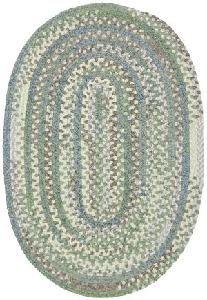 Colonial Mills Rag-Time Cotton Rr41 Sea Foam Area Rug