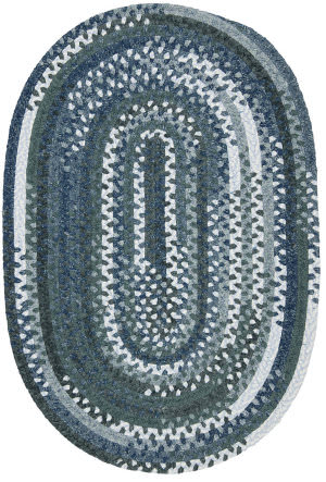Colonial Mills Rag-Time Cotton Rr51 Denim Mix Area Rug