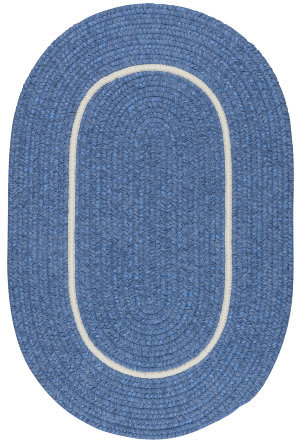 Colonial Mills Silhouette Sl05 Blue Ice Area Rug