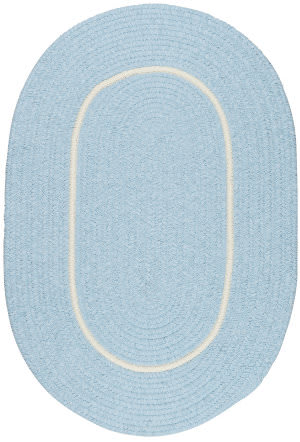 Colonial Mills Silhouette Sl15 Sky Blue Area Rug