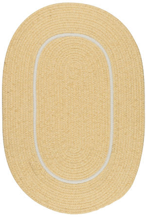 Colonial Mills Silhouette Sl35 Pale Banana Area Rug