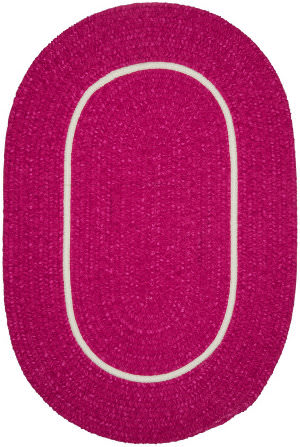 Colonial Mills Silhouette Sl78 Magenta Area Rug