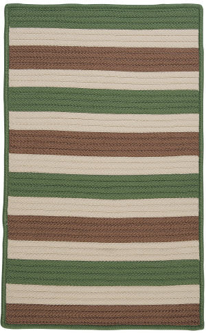 Colonial Mills Stripe It Tr69 Moss-Stone Area Rug