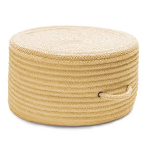 Colonial Mills Solid Chenille Pouf U833 Banana
