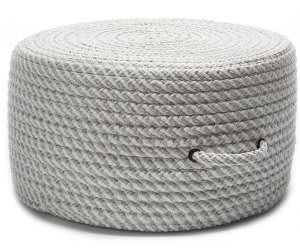 Colonial Mills Bright Twist Pouf Uf11 Shadow/White