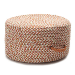 Colonial Mills Houndstooth Pouf Uf19 Orange