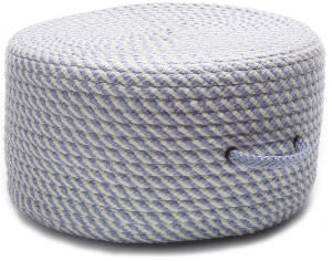 Colonial Mills Bright Twist Pouf Uf41 Amethyst/White
