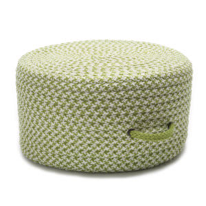 Colonial Mills Houndstooth Pouf Uf69 Lime