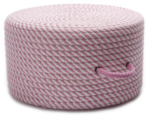 Colonial Mills Bright Twist Pouf Uf71 Pink/White