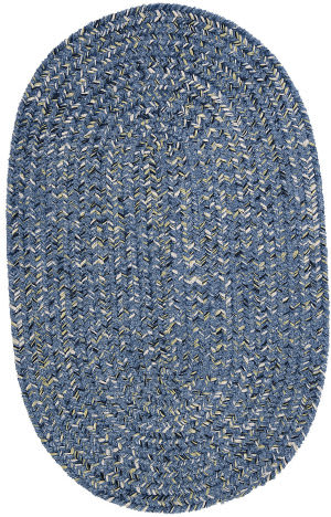 Colonial Mills West Bay Wb51 Blue Tweed Area Rug