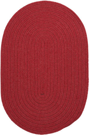 Colonial Mills Bristol Wl16 Red Area Rug