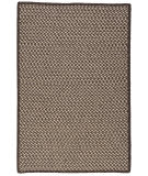 Colonial Mills Natural Wool Houndstooth Hd36 Espresso Area Rug