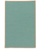 Colonial Mills Point Prim Im03 Teal Area Rug