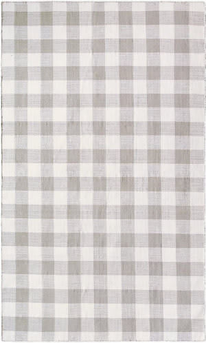 Company C Check Please 10197 Pewter Area Rug