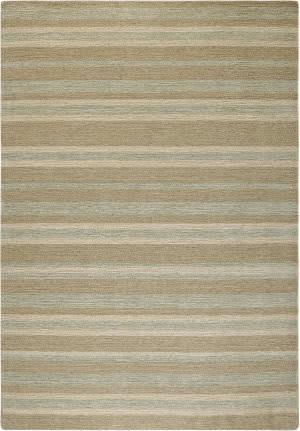Company C Colorfields Driftwood Stripe 10712 Aqua Area Rug