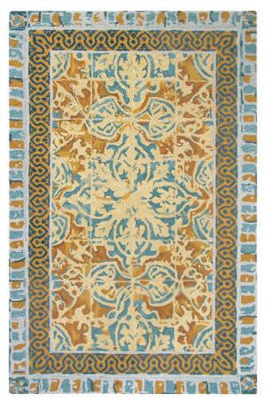 Company C Tuscan 10766 Blue Area Rug