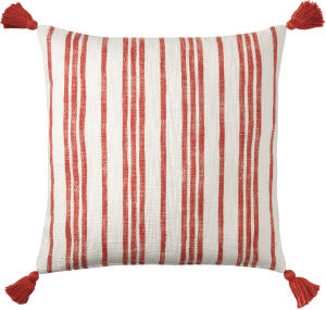 Company C Grain Sack Pillow 10774 Red