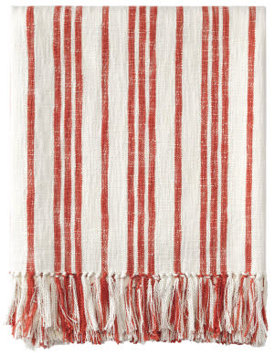 Company C Grain Sack Throw 10777 Red