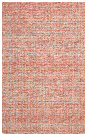 Company C Colorfields Tattersall 10914 Red Area Rug