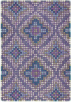 Company C Mirage 19062 Peacock Area Rug