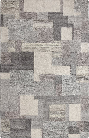 Company C Colorfields Stonework 19626 Grey Area Rug