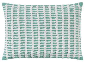 Company C Macrame Pillow 10262k Aqua