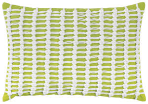 Company C Macrame Pillow 10262k Lime