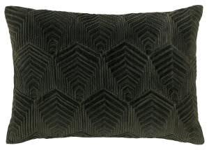 Company C Sloan Velvet Pillow 10734 Loden