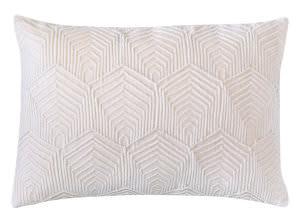 Company C Sloan Velvet Pillow 10734 Oyster