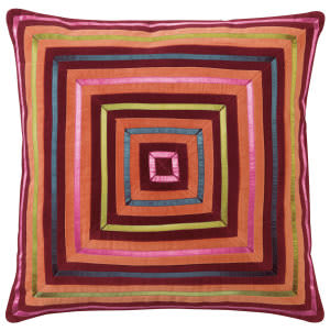 Company C Zoe Pillow 10737 Burgundy