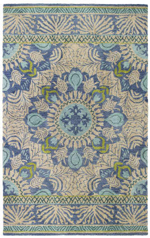 Company C Oasis 19235 Blue Area Rug