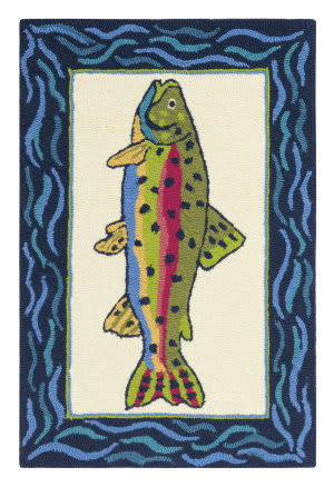 Company C Rainbow Trout 10297 Multi Area Rug